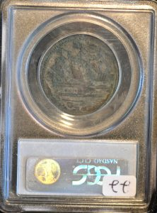 Sommer Is Shilng Small Sails XF40 PCGS